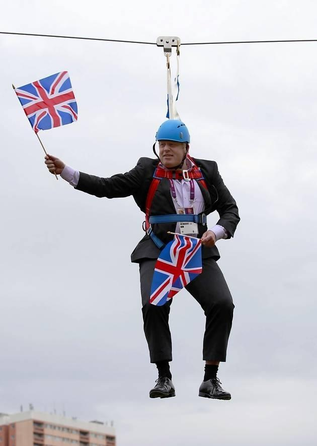 Boris Johnson is not renowned for looking before leaping