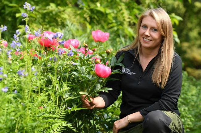New Beechgrove Garden presenter, Kirsty Wilson, started her career with a SRUC education
