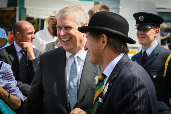 2019 HRH The Duke of York visited the Great Yorkshire Show.