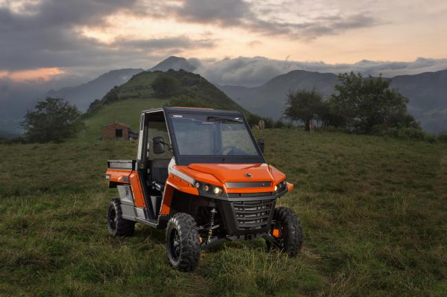 The new Corvus UTV is made in Spain and is set to be sold in the UK from September