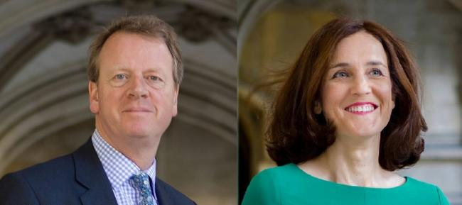 NEW FACES Scottish Secretary Alister Jack and Defra minister Theresa Villiers