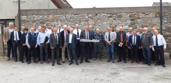 BEEF SECTOR representatives from Quality Meat Scotland, the Scottish Association of Meat Wholesalers, Scotland Food and Drink, the Scottish Beef Association, National Sheep Association, the Institute of Auctioneers and Appraisers in Scotland, the Scottish