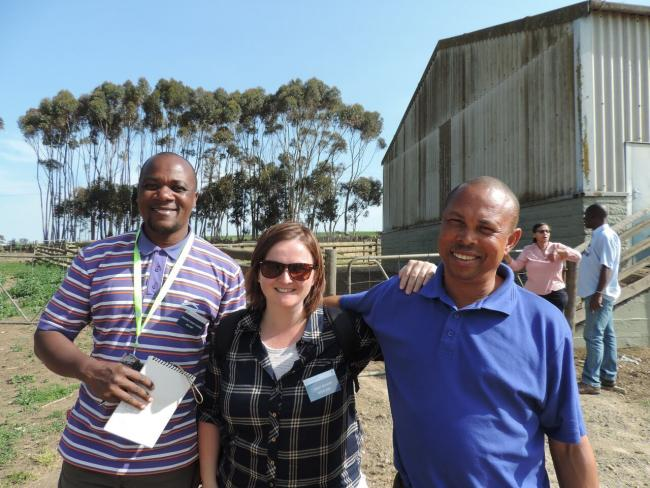 Jenny McKerr, a previous RHASS-funded scholar spent two weeks on a mission to South Africa with RASC: