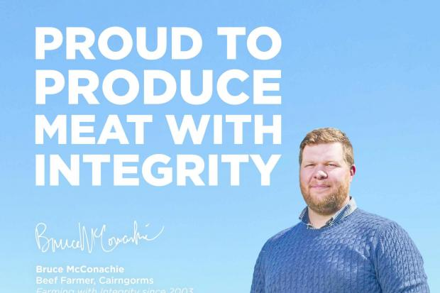 Bruce McConachie features in one of the new 'Meat With Integrity' radio adverts.