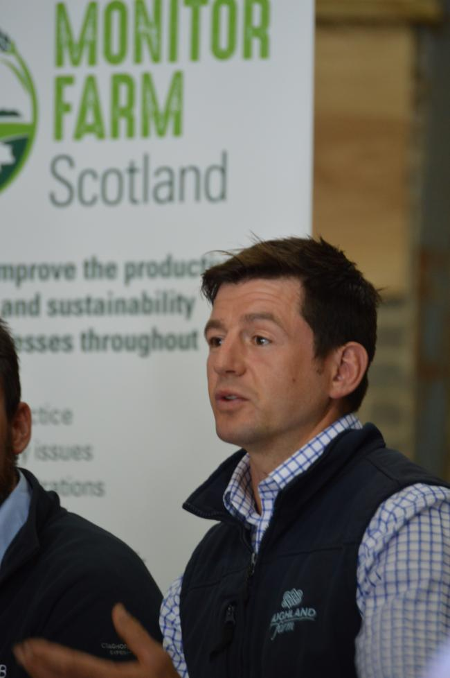 2.	Peter Eccles, farm manager of Saughland Farm who is featured within the Monitor Farm Scotland video published today.