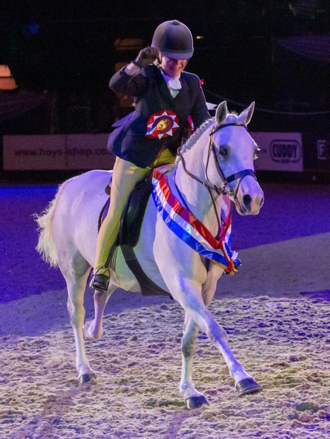 Coco Bongo was the Ruckleigh School Supreme Pony of the Year (Pic: Julian Portch).