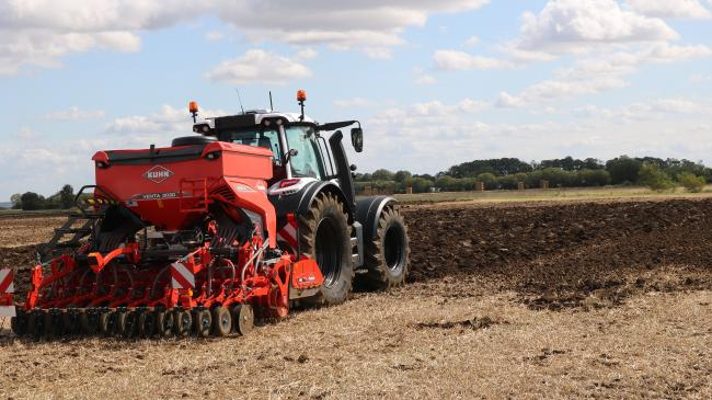 One of the stars of the Kuhn line-up to be offered via Johnson Tractors is the Venta 3030 drill