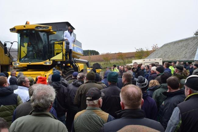 This New Holland combine sold for £49,200
