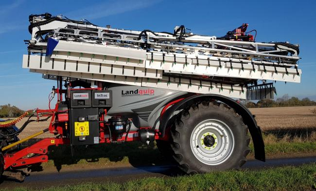 Key launch from Landquip was the Wingssprayer twin wing application system, designed to significantly reduce spray drift whilst boosting product efficacy