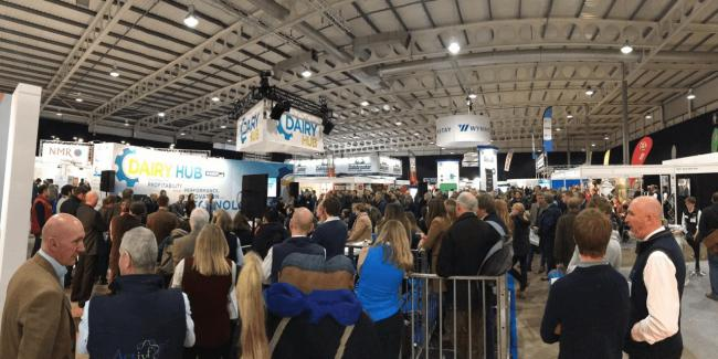 Another big crowd is expected at this year's Dairy-Tech event at Stoneleigh