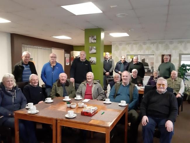 The first Wigtownshire meeting of the Retired Farming Group was hailed a success at Green Valley, Castle Douglas, mid January. Organiser, Jill Rennie was delighted at the turnout, and there is now a date in the diary for the next meeting in February &ndas