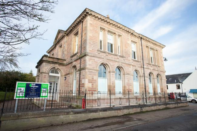 BELL INGRAM'S new Beauly office, the former Bank of Scotland building in the High Street