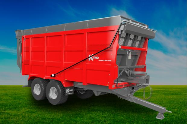 Ktwo's Rodeo Compact and Push machine has been hailed as the next generation of trailer