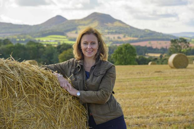 Rachael Hamilton MSP - the newly appointed spokesperson for the rural economy and tourism for the Scottish Conservatives