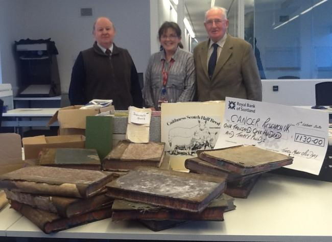 A successful archiving project has been undertaken by Peter Mackay, Ms Anne Mackay and Iain Thomson