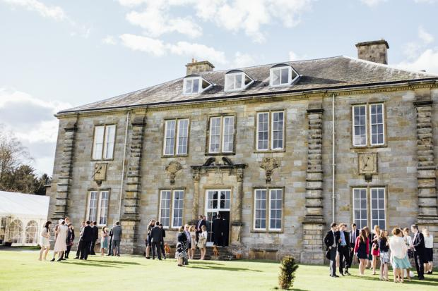 Capheaton Hall is a popular wedding venue in Northumberland run by Willy Browne-Swinburne