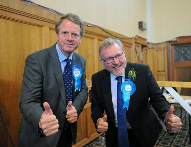 Alister Jack and David Mundell - among the Scots Tory MPs who voted against the amendment to protect UK farmers from cheap substandard imports