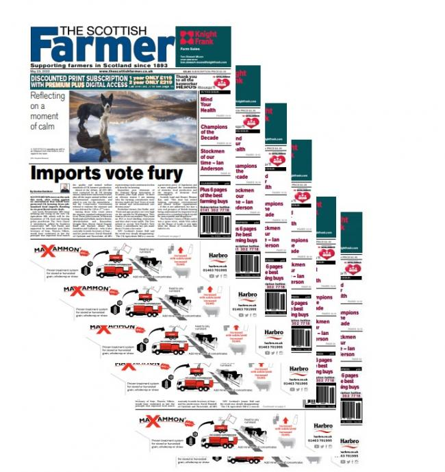 This week's edition of The Scottish Farmer will be out a day early