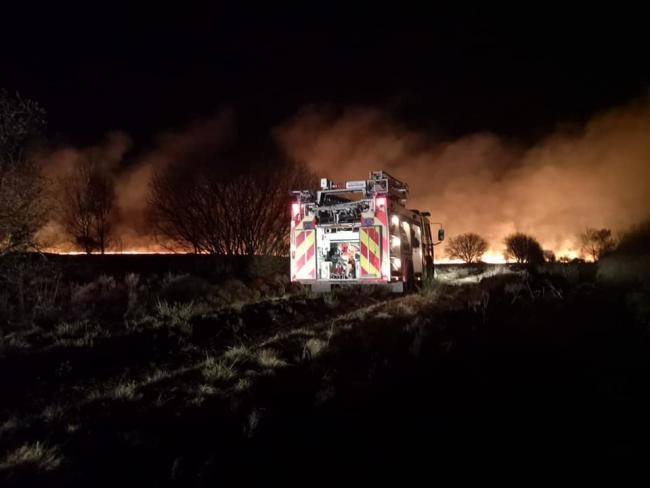 There were a series of wildfires reported across Scotland this spring including this one which raged for four days in Dumfries and Galloway