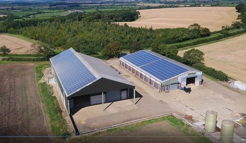 MANY farm businesses have made use of their buildings to install solar panels