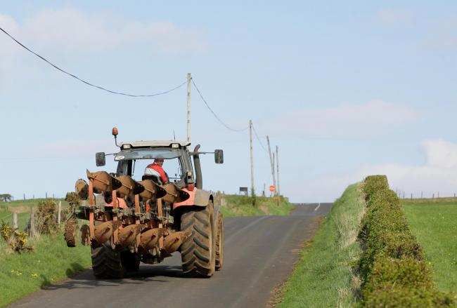 Farmers urged to be wary of cyclists on rural roads and to follow simple advice (PC: Cliff Donaldson)