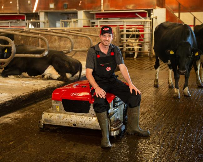 Martin Denholm says automated slurry vacuum has significantly improved feet and leg problems and bactoscan figures