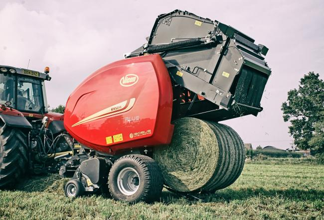 Vicon's new RV5216-Plus baler will be available in 2021
