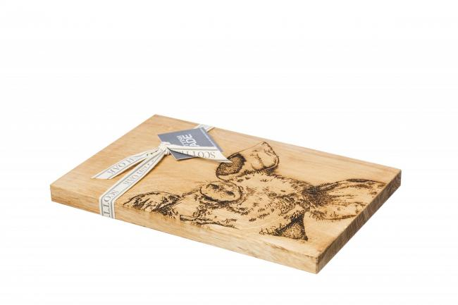 Scottish Made's serving board ... ideal for little bacon treats!