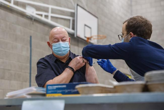 Scotland's coronavirus vaccination campaign is proceeding at pace