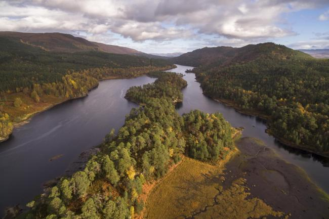 Loch Beinn a Mheadhoin in Glen Affric, Scotland (Pic: Richard Bunting/Scotland The Big Picture)