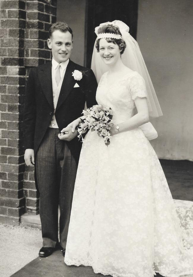 CONGRATULATIONS to James and Mary McConnell, of Hoodsyard Farm, Beith, who are celebrating their Diamond Anniversary, having married 50 years ago, on April 18, 1961, at The Church, Dundonald. They have lived and worked at Hoodsyard all their married