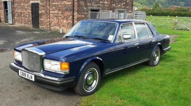Topping the sale at £13,000 was this 1985 Bentley Eight