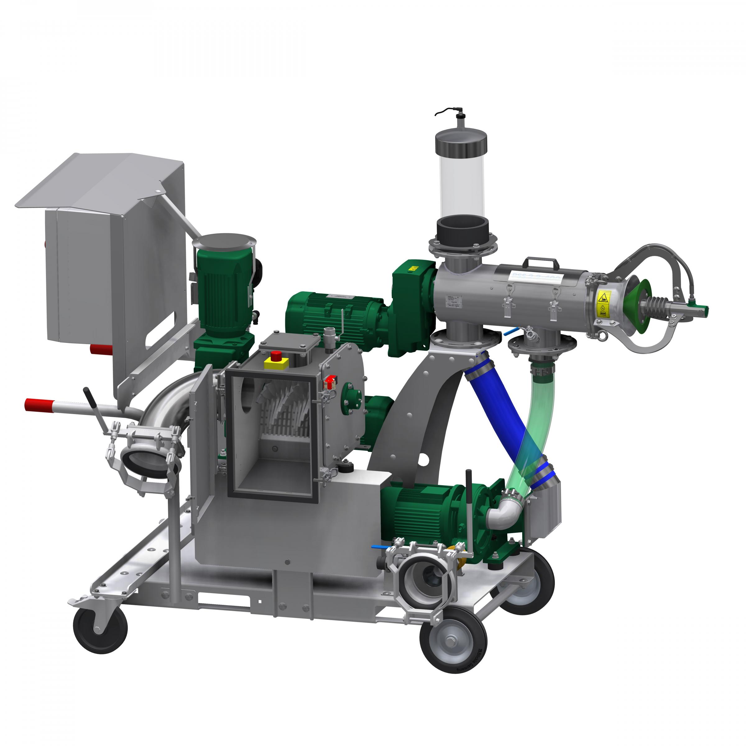 Slurry seprators are increasingly being used to split the fractions in slurry into solids and liquid to ease storage