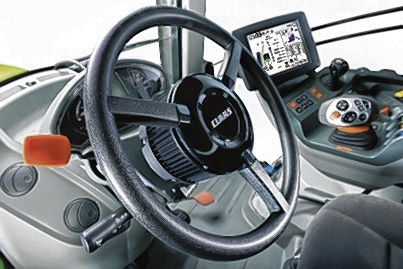 GPS Pilot Flex is a fully integrated steering system built into a steering wheel which is then fitted in place of the normal steering wheel
