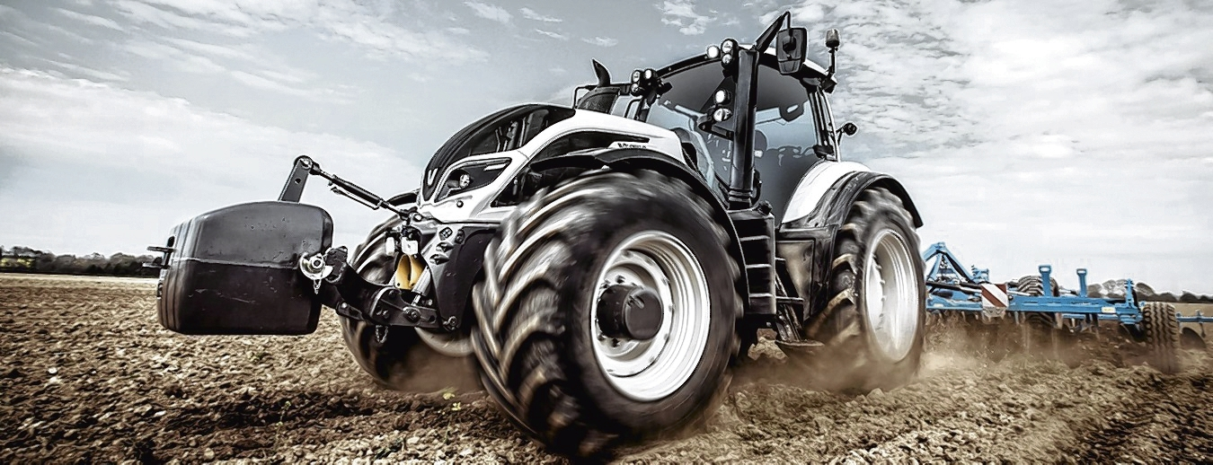 VALTRA'S T4 series six cylinder - set to make its UK debut