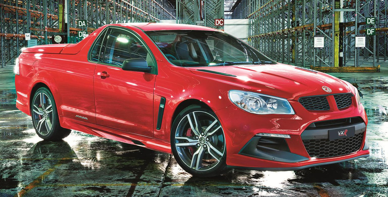 Radical version of Vauxhall's Maloo LSA