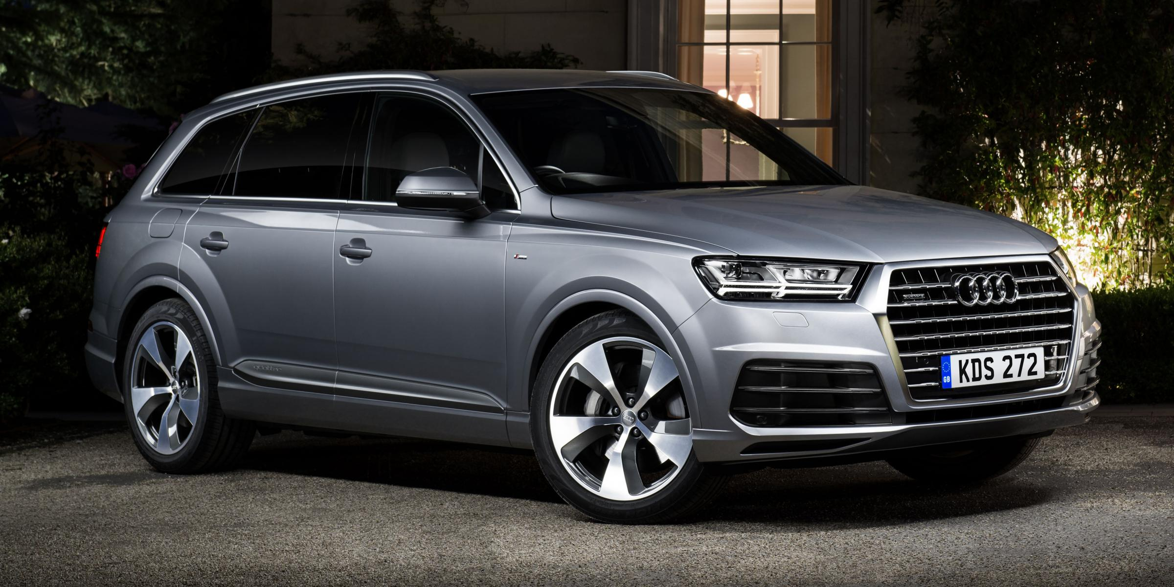 THE NEAT clean lines of Audi's new 'thinner' Q7 SUV