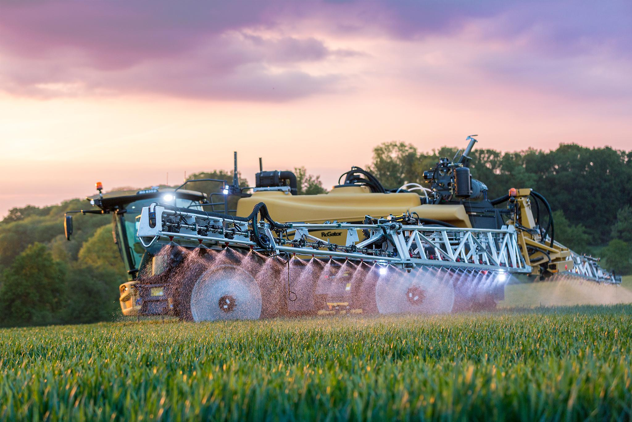 Challenger's new RG600 series will be at Cereals