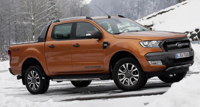 FORD RANGER in Wildtrak form is one of the best sellers in the UK