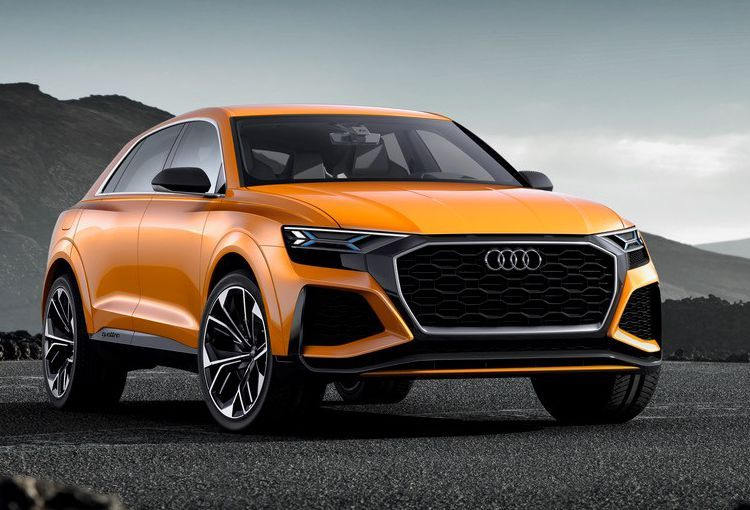 AUDI SAYS there is nearly 500hp available in its Q8 concept. It looks good enough to come to fruition!