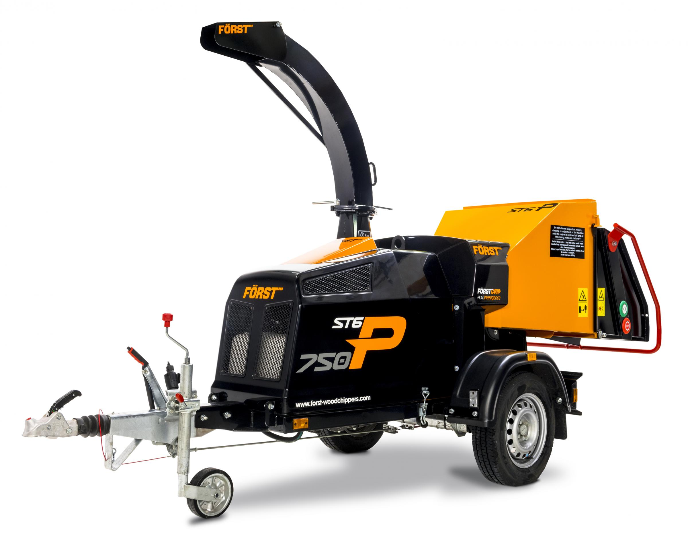 FORST'S new farmscale woodchipper