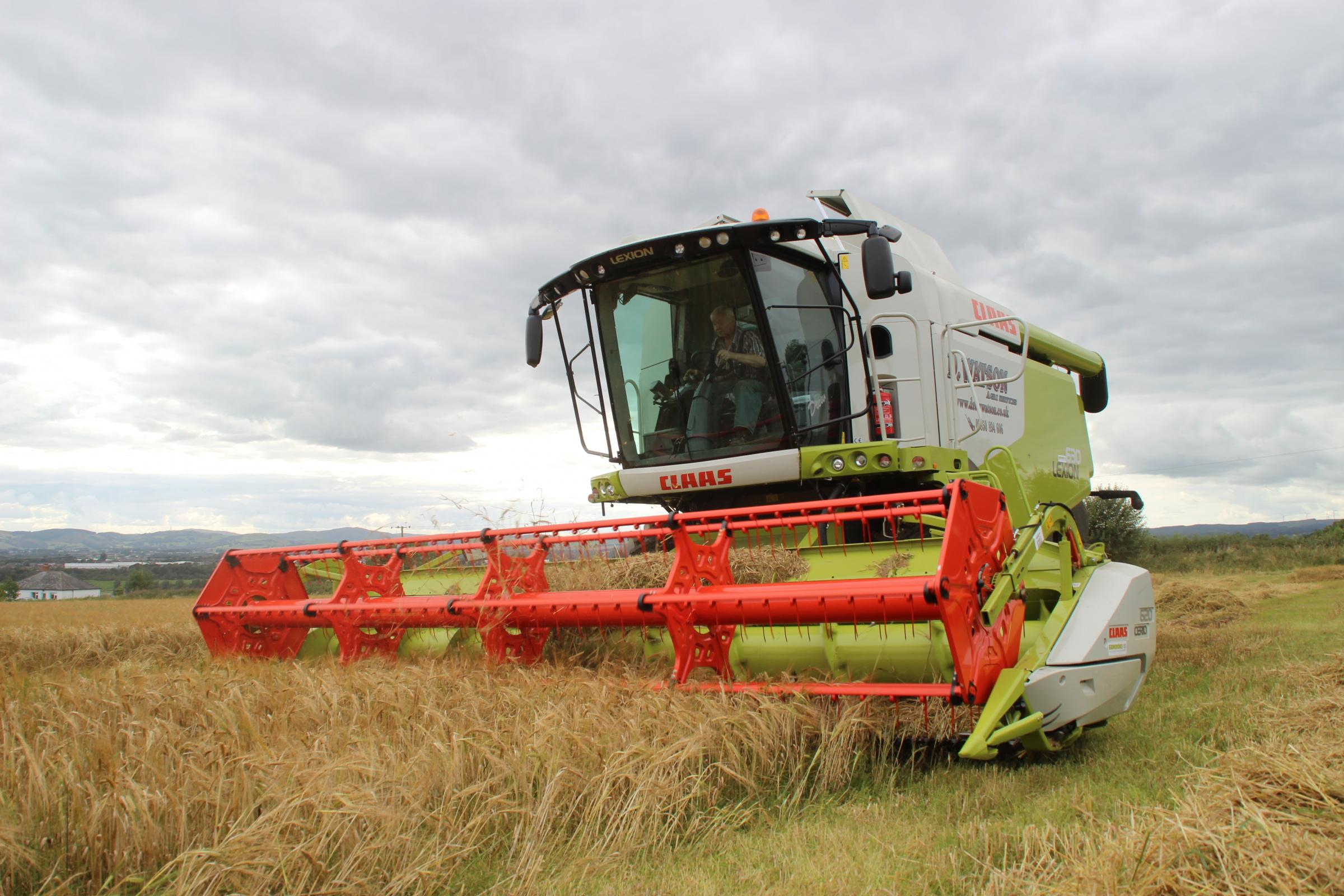 Combining is underway, but in a stop:start fashion
