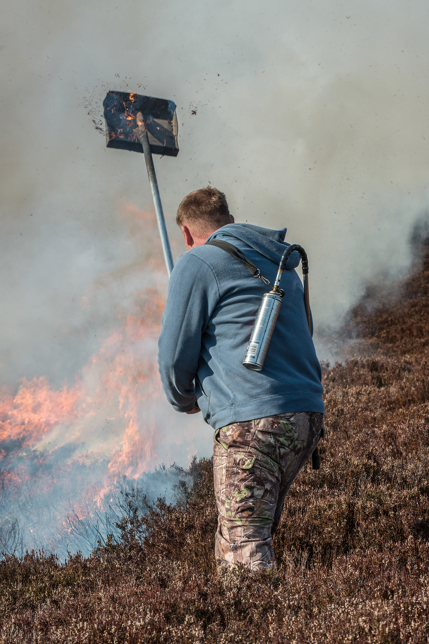 MUIRBURN is a long-established land management tool in Scotland's hills (Photo: Steve Rennie)
