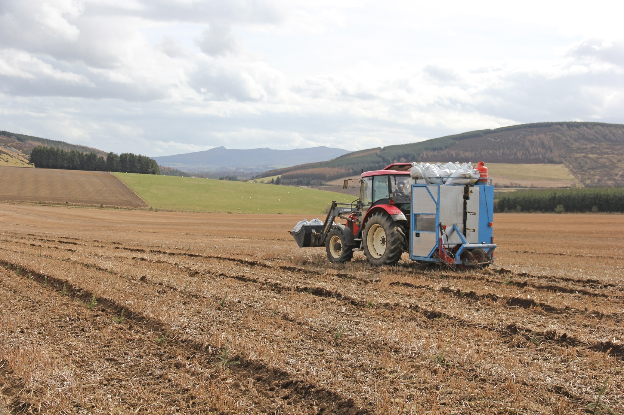 THIS TREE planting machine will be demonstrated at the Auchintender open day