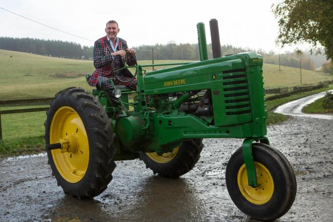 Doddie gets back to his farming roots