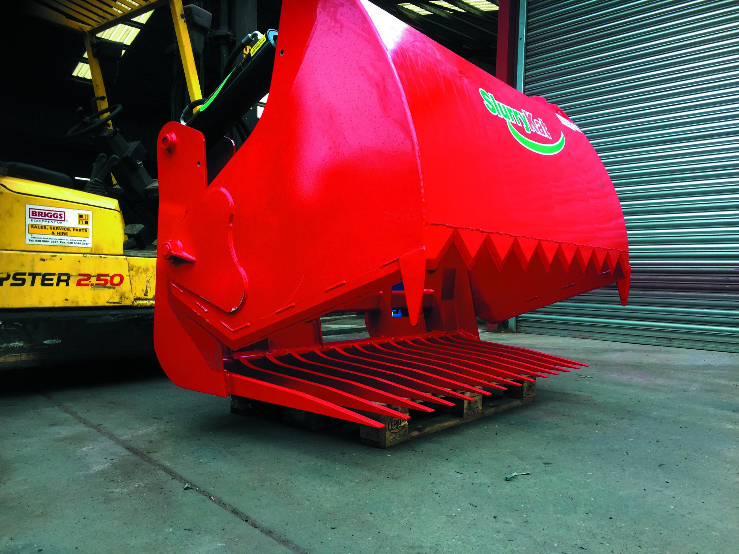 New Hardix-treated tines will add longevity to SlurryKat's latest shear grabs