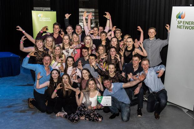 The Scottish Farmer: Winning team at West Area Talent Spot were Carluke YFC, with 'Absolutely Brickin' It'