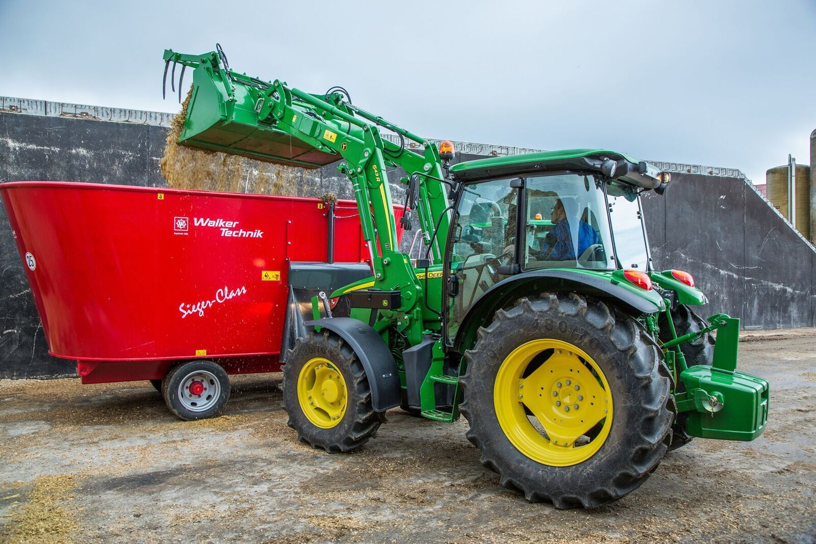 John Deere has revamped its 5M and 5E-series tractors which are aimed at the livestock sector and light arable work