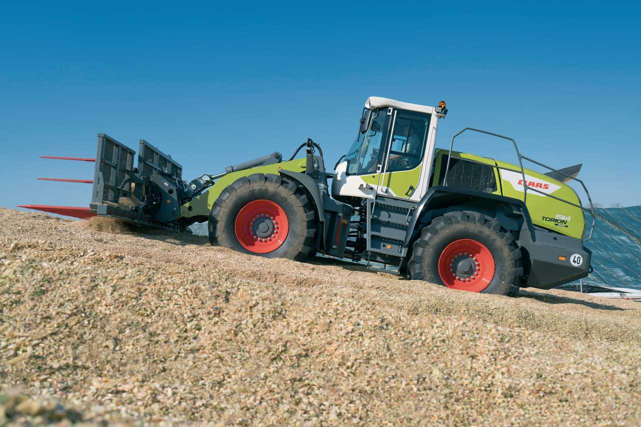 Claas Torion range of wheeled loaders offers seven models