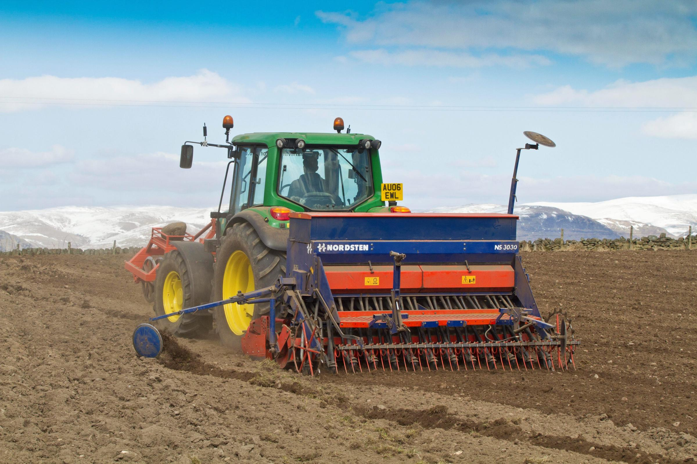 Looks like it might be an early sowing season this spring – let's hope the conditions are like this